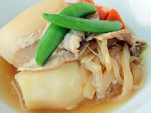 Simmered-Meat-and-Potatoes-Daily-menu-prince-hotel