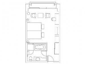 Panoramic-Twin-Room-Floor-Plan-The-Prince-Parktower-Tokyo